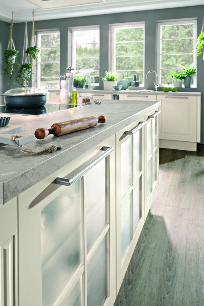 open keukenkasten landelijke keuken